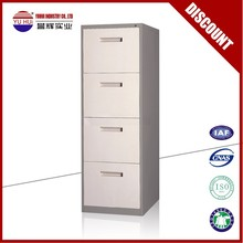 4 drawers metal office vertical filing cabinet for sale