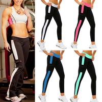2015 New Women's Fashion Pocket Design Sport Fitness Leggings