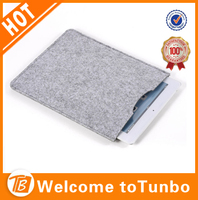 Fashion accessory felt case for tablet
