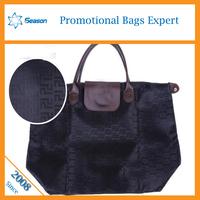 china supplier satin bag foldable shopping bag bag handles