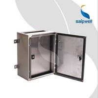 Saipwell China Wholesale Waterproof Project Enclosure IP66 400*300*150 Outdoor Electrical Metal Enclosure