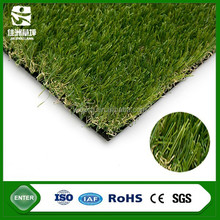 35mm height PE material artificial grass carpet for beautiful adornment lawn with particle filling and non infilling