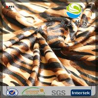 100% polyester animal printed velvet fabric,slipper fabric,velboa