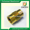 male or female threaded forged brass equal straight coupling pipe fitting