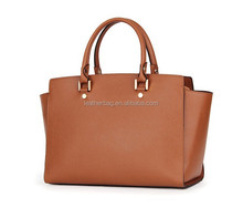 Genuine leather tote bag for women and lady wholesale alibaba handbag