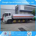 4 X 2 10 t fuel tanker truck dimensões e especificações