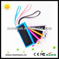 Portable smart phone solar car battery charger