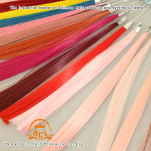 wig material low temperature synthetic fiber(HK), making hair weft and hair extension, any other color