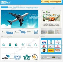 reliable air shipping forwarder China to Newark Orlando USA