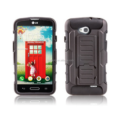 Mobile Phone Hybrid Kickstand Case for LG Optimus L70