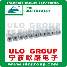 Euro Feed Through Terminal Block 12v wire connectors Free Sample
