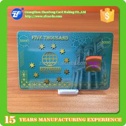 High quality smart card pet iso/iec 14443