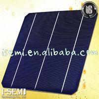 6 inch mono solar cell A / B grade