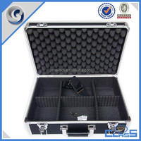Newest Lightweight Heavy Duty Aluminum Hard Case for Grooming Tools Equipment MLD-AC2675