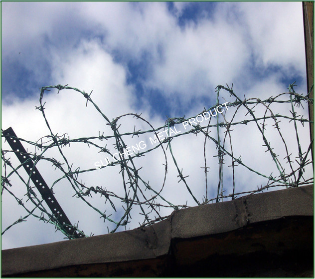 Barbed Wire Fence Design/spiral Barbed Wire/barbed Wire Agricultural ...
