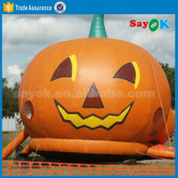 Manufacture and sale large inflatable halloween pumpkin outdoor