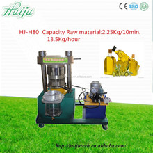 cold oil press machine/ New type olive hydraulic oil press for virgin olive oil