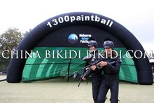 Paintball/Laser Tag Inflatable Tents to Germany