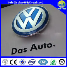 LED acrylic car logo sign, car names and their logos