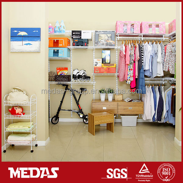 Metal walk in closet kit buy walk in closet kit closet for Walk in wardrobe kits