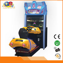 2015 dynamic motional hydraulic driving 4d car simulator hot sale for game zone