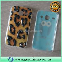 Leopard Print Custom Design TPU Back Case Cover For Samsung Galaxy I8260