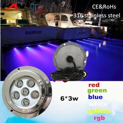 IP68 Series Stainless Steel AISI304 underwater led light for boat underwater led light ring led underwater light