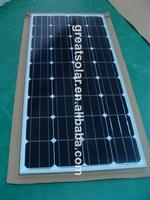 solar power Monocrystalline Silicon Module 100W solar panel