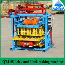 QT4-45 máquina del bloque hueco de hormigón para la venta +86 18753963114