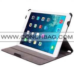 Hot pressing for ipad air 2 case, stand design for ipad air 2 cover