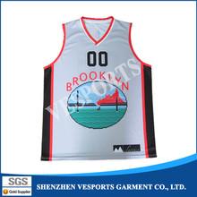 wholesale 100% polyester new season basketball jerseys