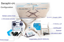 Seraphi Seraphi - GPS four rotor unmanned aerial vehicle (uav) YunYiFei Four axis aircraft