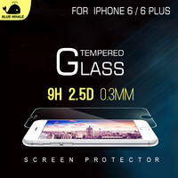 Tempered Glass Moblie Screen Guard For Iphone 6, For Shatterproof Iphone 6 Screen Protector Film, For Iphone 6 Screen Protection