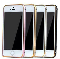 New 2014 Fashion Ultra Thin Metal Hard Cover Bumper Frame for iPhone 5 5S Cover For Apple iPhone5 0.7mm Top aviation aluminum