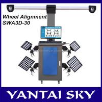 China supplier SWA3D-30 3D wheel aligner/manual wheel alignment equipment