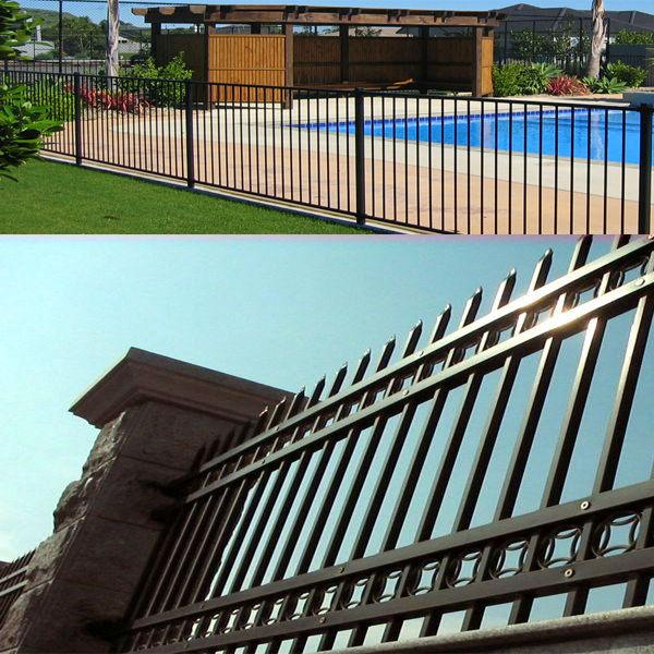 Cheap jardín piscina poste de cercas de acero inoxidable diseño ...