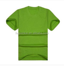 soft and thin round neck blank cotton t shirts