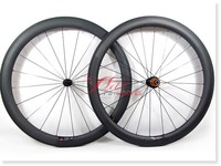Lightest, 2015 Full carbon wheels 50mm 25mm 700c, build with Sapim spokes for bike shop