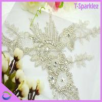 Decorative Crystal Embellishments Rhinestone Appliques Design Wholesale