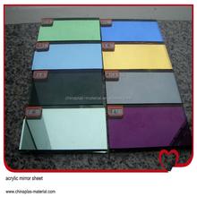china supplier of acrylic self adhesive mirror sheet