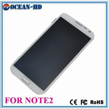 Factory directly sales for samsung galaxy note 2 n7100 lcd touch screen