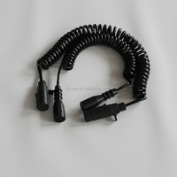 Heavy Duty Trailer Electrical Cable Suzie Coil With Molded Plug