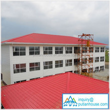 prefabricated multi storey steel frame apartment