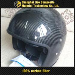 half shell motorcycle helmet carbon open face carbon fiber helmet dirt bike carbon fiber helmet