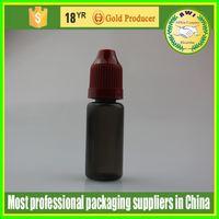 sterile childproof plastic dropper bottle 5ml 30ml PET 10ml e juice dropper bottle e tobacco oil ego oil