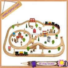 Kids costume baratos bigjigs transporte brinquedos trem de madeira set-daron brinquedos