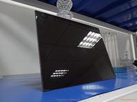 Black Color Ceramic Glass Doors For Stoves
