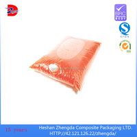 High quality best price.plastic aseptic bag in box for red wine