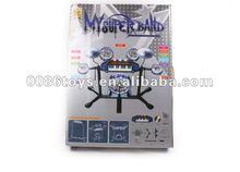 Electronic jazz band set toys