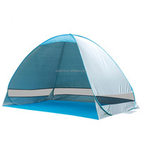 Hot sale 2 person Silver coated UV protect folding quick camping tents